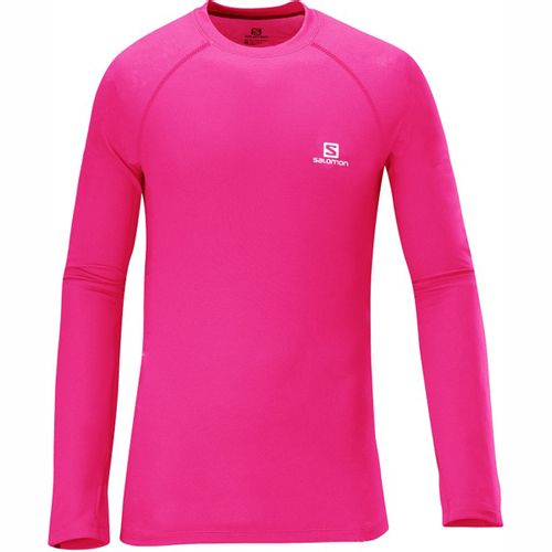 Remera-Salomon-Hybrid-Ls-Tee-Niños-15559-Hot-Pink-14