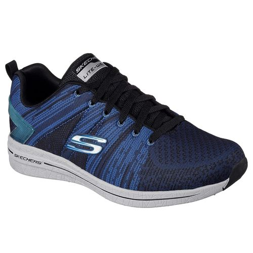 Zapatillas-Skechers-Burts-2.0-in-the-mix---Hombre---Running-Black-Blue-USA-7---ARG-39---CM-25