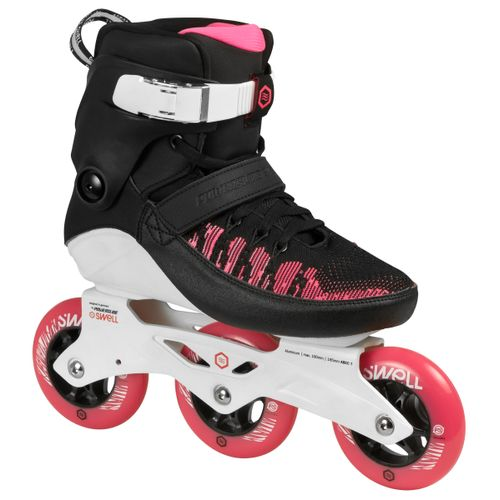 Roller-Powerslide-Swell-100-Pink---Fitness---Velecidad---Mujer-Pink--Black-EUR-37---ARG-36---CM-23.7