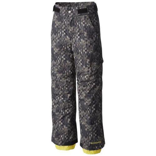 Pantalon-Columbia-Ice-Slope-Niños-impermeables-de-ski-L-Black-Block-Printed