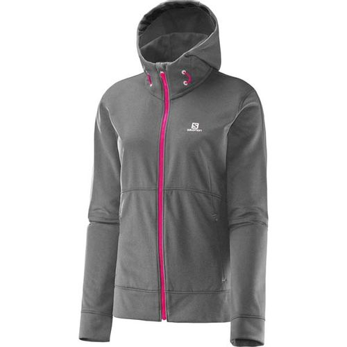 Campera-Salomon-Flyte-Hoodie---Dama--15052-Galet-Grey-Hot-pink-XS