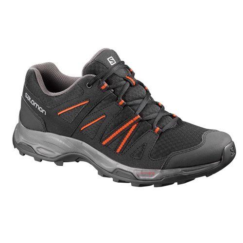Zapatilla-Salomon-Redwood---Trekking---Hombre-404907-Black---BLK----Scarlet-UK-7.5---ARG-40---CM-26