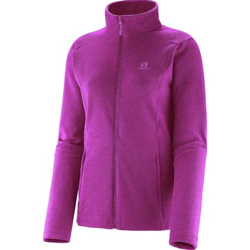 Campera-Salomon-Polar-Jacket--Dama--14363-Hot-Pink-L