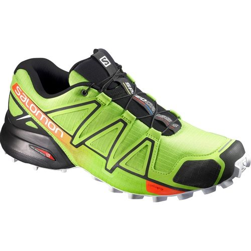 Zapatillas-Salomon-Speedcross-4--Hombre-398420-Lime-Green---Black-UK-7---ARG-39.5---CM-25.5