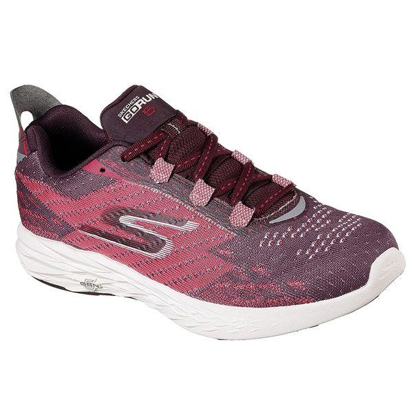 4a8e4590750 Zapatillas Skechers GoRun 5 - Mujer - Running - Burgundy ...