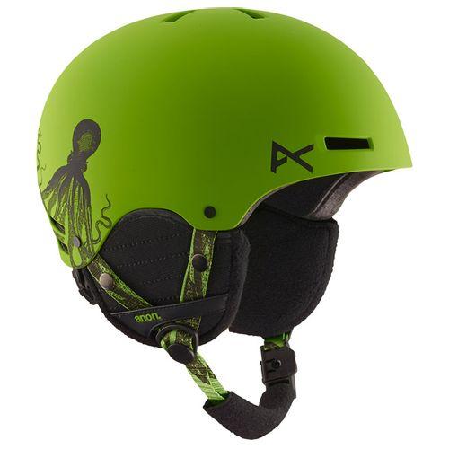 Casco-Anon-Rime--Snowboard---Ski--Junior--S-M-KRAKKEN-GREEN