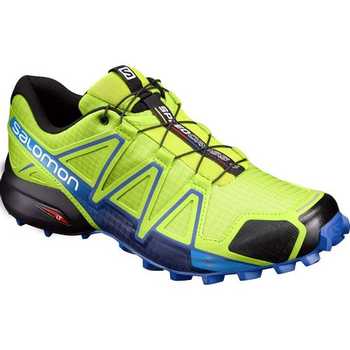 Zapatillas-Salomon-Speedcross-4---Hombre--392399-Lime-Green---Nautical-Blue-UK-7---ARG-39.5---CM-25.5
