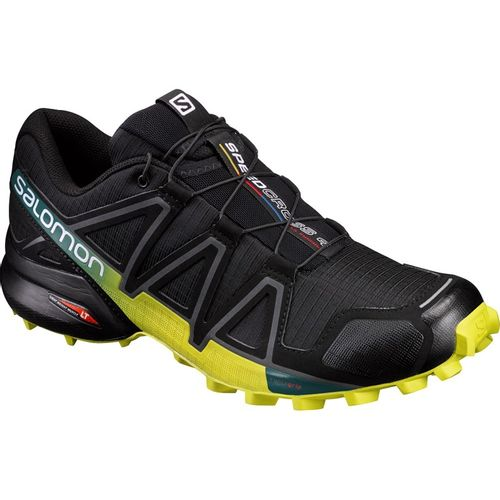 Zapatillas-Salomon-Speedcross-4--Hombre-392398-Black--Silphur-spring-UK-7---ARG-39---CM-25.5