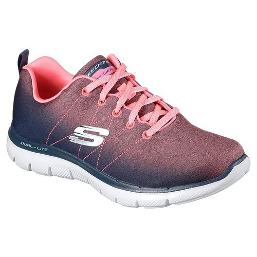 Zapatillas-Skecher-Flex-Appeal-2.0--Bright-Side---Mujer-USA-5.5---ARG-35.5---CM-22.5-Charcoal---Coral