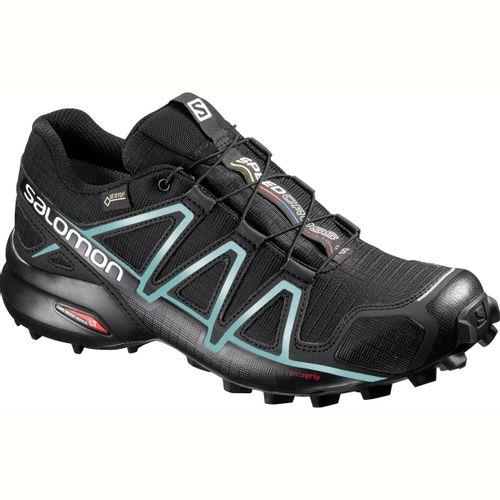 Zapatillas-Salomon-Speedcross-4-GTX---Mujer---Trail-Running--383187-Black---Black---Metallic-Bubble-Blue-UK-4.5---ARG-36---CM-23