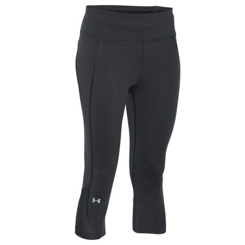 Calza-Under-Armour-Fly-By-Capri-3-4--Dama--S-Black