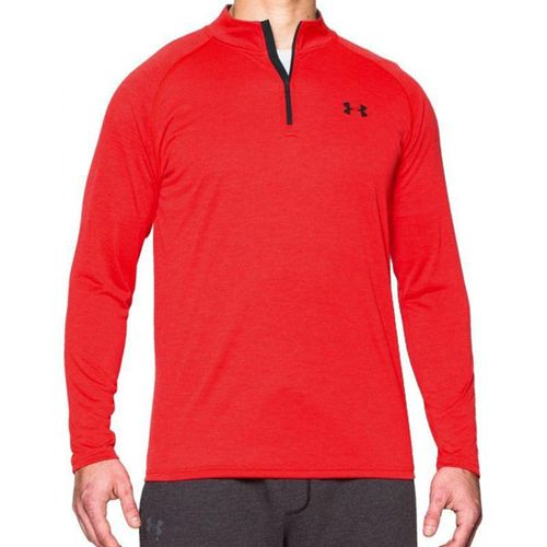 Remera-Under-Armour--Tech-1-2-Zip---Hombre--Rock-Red-S