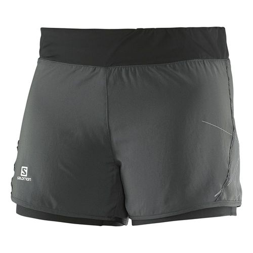 Short-Salomon-Park-2-in-1-Dama-379596-Galet-greu-Black-----XS