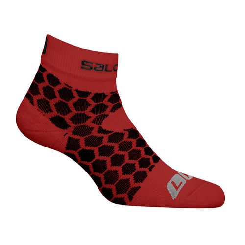 Medias-Salomon-Exo-Red---Trail-Running---Hombre
