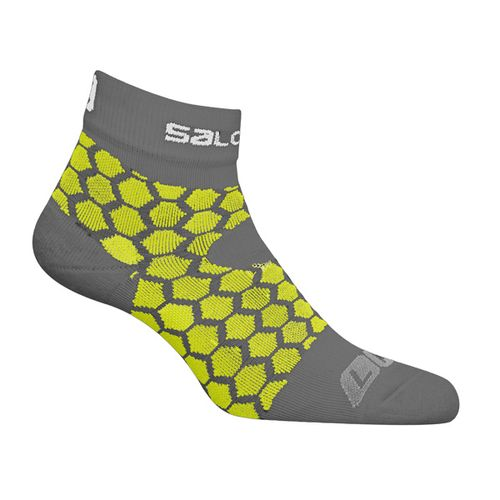 Medias-Salomon-Exo-Green---Trail-Running---Hombre
