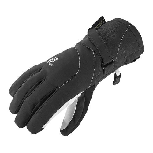 Guantes-Salomon-Propeller-Goretex--gtx--ski-Snow-Mujer-375974-Black-White-XS