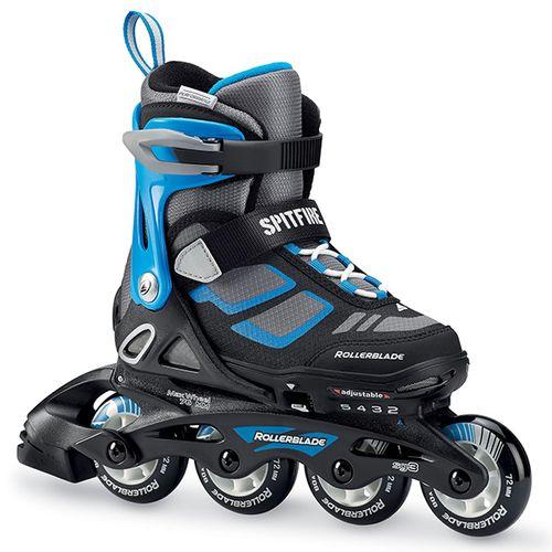 Patin-Rollerblade-Spitfire-Boy-Niños-Black-Blue-CM-21-23-ARG-32-35.5-USA-2-5