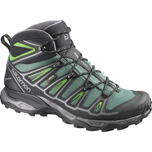 Bota-Salomon--X-Ultra-Mid-2-GTX--Hombre--371032-Green-Black-Spring-UK-11---ARG-45---CM-29.5