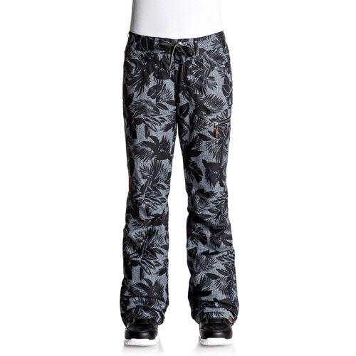 Pantalon-Roxy-Rifte-Impermeable-respirable--XS-KVj6-True-Black-Floral