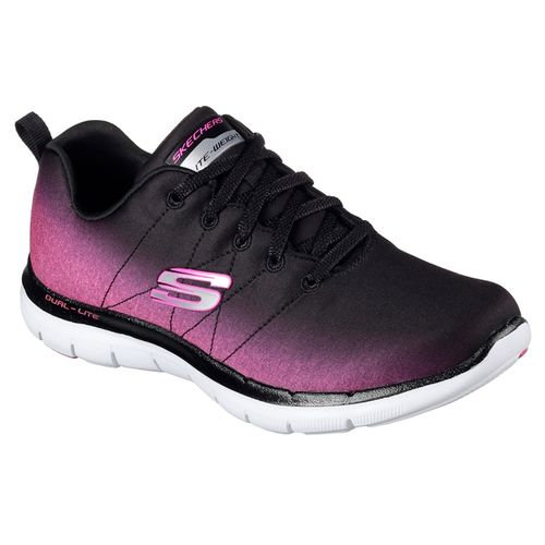 Zapatillas-Skecher-Flex-Appeal-2.0--Bright-Side---Mujer--Black---H-Pink-USA-5.5---ARG-35.5---CM-22.5