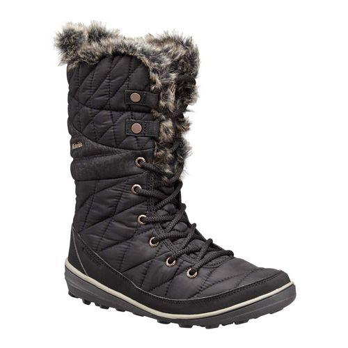 Columbia-Heavenly-Omni-Heat-Black-Kett-Negro-Descansos-Zapatos-Mujer-H7YRT8DH