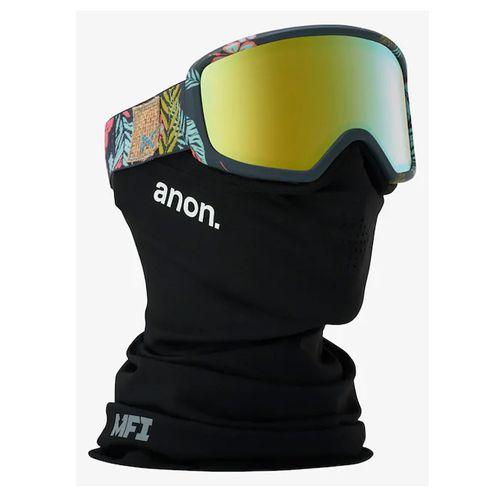 Antiparras-Snowboard-Ski-Anon-Deringer-Gold-Chrome-MFI-Facemask