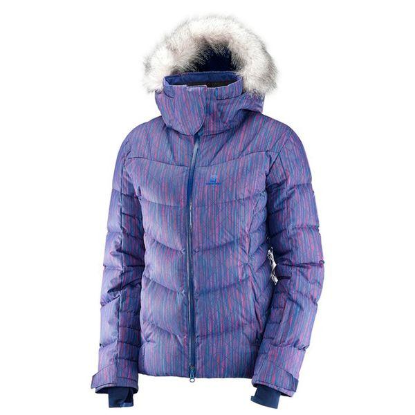0599f29c89f Campera Salomon Icetown - Mujer Pluma Ski Snow Impermeable - 398920 ...