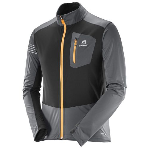 Campera-Salomon-RS-Softshell-JKT-M-Forged-Iron-397110