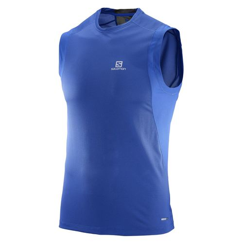 Remera-Salomon-Trail-Runner-Sleeveless-Hombre-Blue-392598