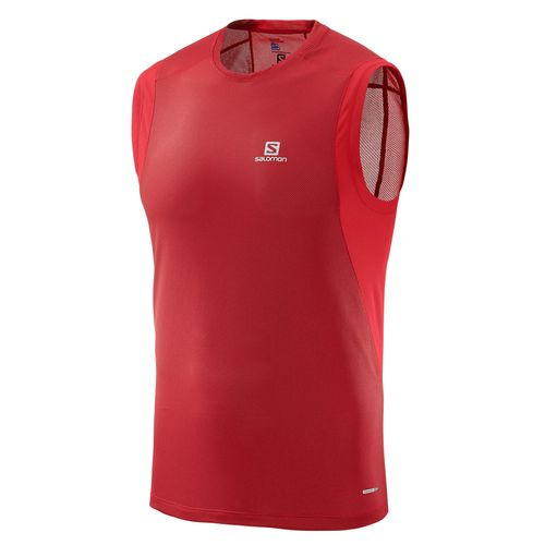 Remera-Salomon-Tirant-Trail-Runner-Sleeveless-Red-Hombre-401000