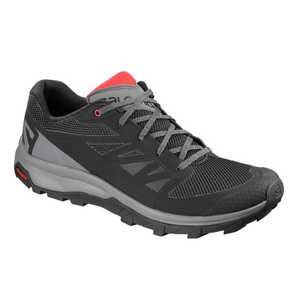 diseño atemporal 83867 ee719 Zapatillas Salomon Outline Trail trekking Black Hombre ...