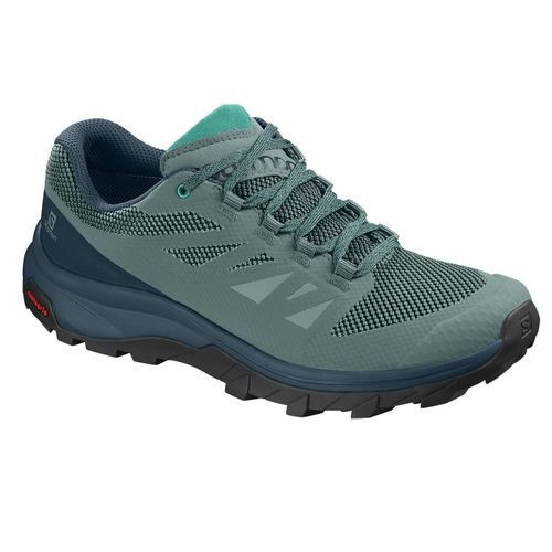 Zapatillas-Salomon-Outline-Trail-trekking-Green-Mujer-406190