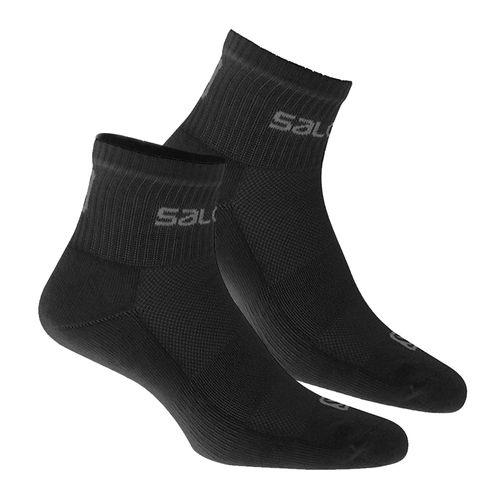 Medias-Salomon-Active-II-x2-Black-Hombre-10363