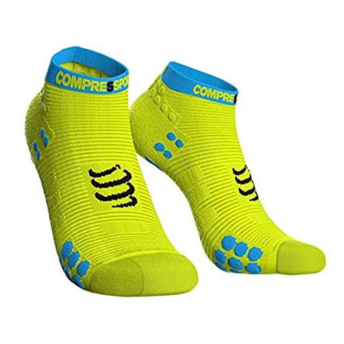 Medias-Compressport-Pro-Racing-Socks-V3-Run-Fluo-Yellow-100115