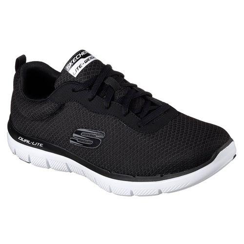 Zapatillas-Skechers-Flex-Advantage-2.0-Dayshow-Black-Hombre-52125-BKW
