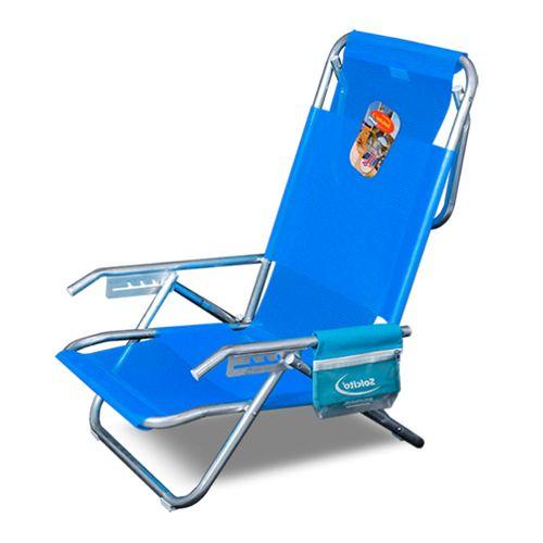 Reposera-Playera-Solcito-Aluminio-5-Posiciones-y-Porta-Objetos-Azul-3025