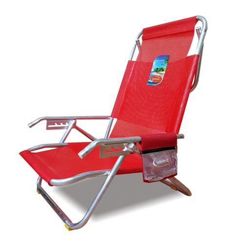 Reposera-Playera-Solcito-Aluminio-5-Posiciones-y-Porta-Objetos-Roja-3025