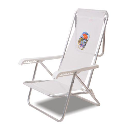 Reposera-Playera-Solcito-Aluminio-3-4-Apoyabrazo-de-Plastico-blanca-3015