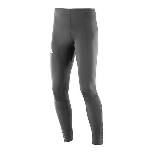 Calza-Running-Salomon-Agile-Long-Tight-M-Hombre-Black-401174