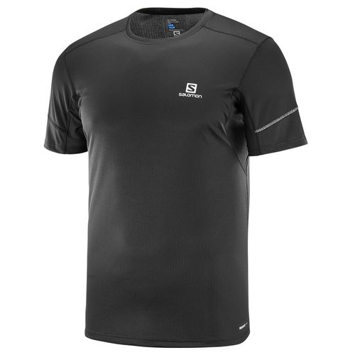 Remera-Running-Salomon-Agile-SS-Tee-M-Hombre-Black-402099