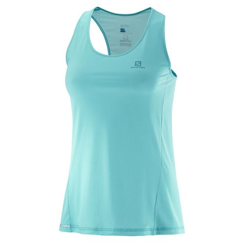Top-Musculosa-Running-Salomon-Agile-Tank-W-Mujer-Blue-Curacao-402112
