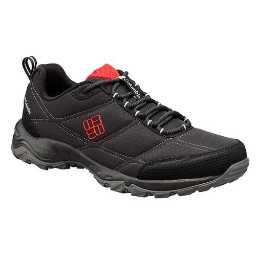 Zapatillas-Trekking-Trail-Columbia-Firecamp-II-Hombre-Black-Bright-Red
