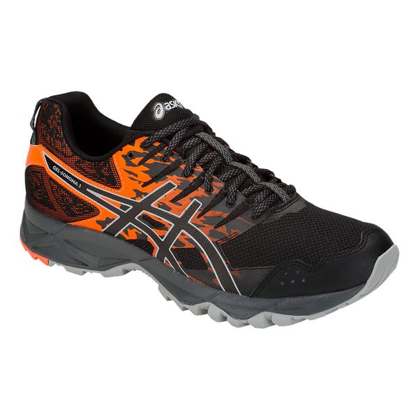 ec0914528 Zapatillas Asics Gel-Sonoma 3 Trail Running Hombre Black Orange ...