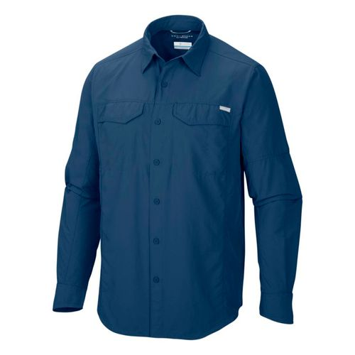 Camisa-Manga-Larga-Columbia-Silver-Ridge-Trekking-Hombre-Carbon-AM7453-469