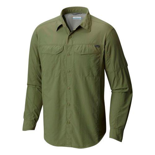 Camisa-Columbia-Silver-Ridge-Manga-Larga-Trekking-Hombre-Mosstone-AM7453-302