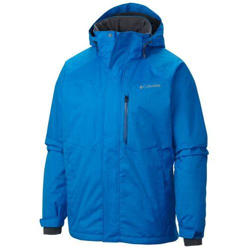 WM1058 432 f Campera Columbia Alpine Action Ski Nieve Impermeable Hombre  Hyper Blue ... ee98736738f