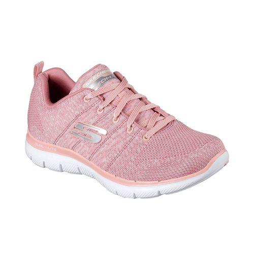 Zapatillas-Running-Skechers-Flex-Appeal-2.0-Mujer-Rosa-12756-ROS