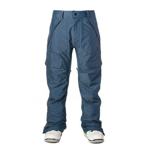 Pantalon-Rip-Curl-Focker-Fancy-Ski-Snowboard-Impermeable-10k-Blue-01003