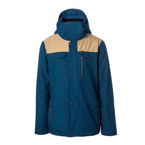Campera-Rip-Curl-Cabin-Ski-Snowboard-Impermeable-10k-Hombre-Dress-Blue-SCJCU4-04078-B8
