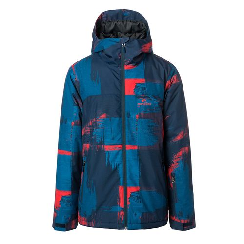 Campera-Rip-Curl-Enigma-Ski-Snowboard-Impermeable-10k-Hombre-Printed-Dress-Blue-04087-B8